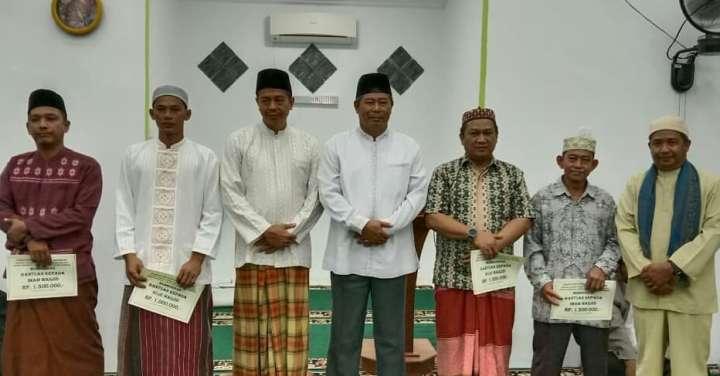 Subuh keliling Pemerintah Kabupaten Kepulauan Anambas bersama Kementerian Agama Kabupaten Kepulauan Anambas