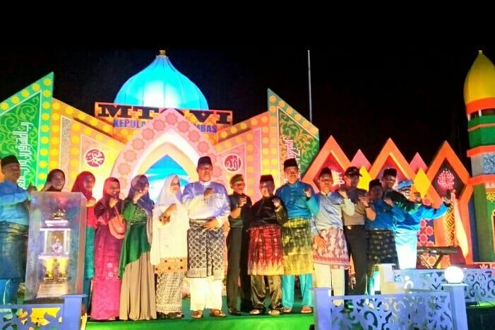 Bupati Buka MTQ Ke VI Tingkat Kabupaten Kepulauan Anambas