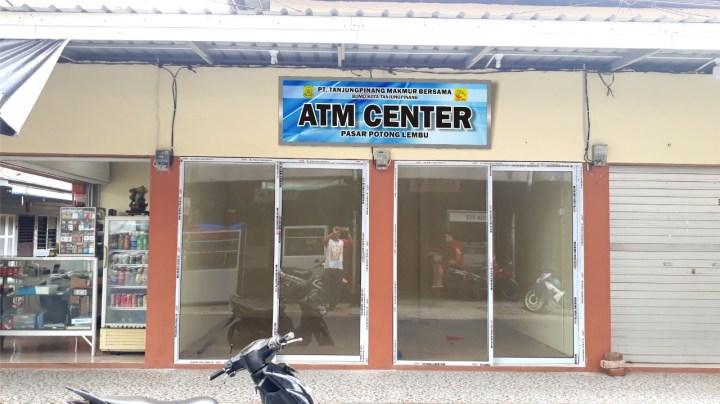 BUMD Sediakan Tempat Mesin ATM di Akau Potong Lembu, Silakan Perbankan Melekat Mesin ATM, SamuderaKepri