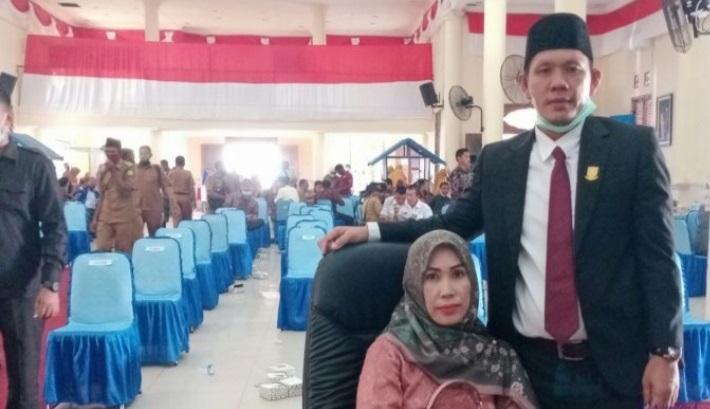 Komisi I DPRD Natuna Nasehati  Paslon Bupati Dan Wakil Bupati Natuna Tetap Patuhi Protokol Kesehatan, SamuderaKepri