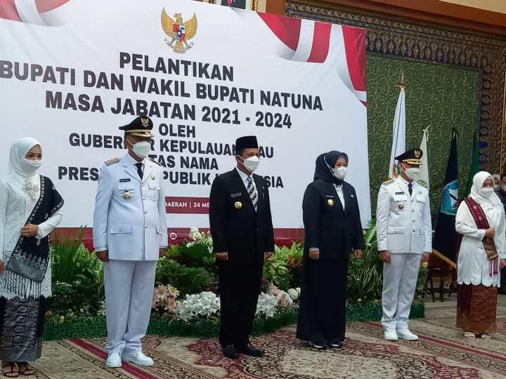 Gubernur Kepri Lantik Pasangan Bupati Dan Wakil Bupati Terpilih Masa Jabatan 2021-2024, SamuderaKepri