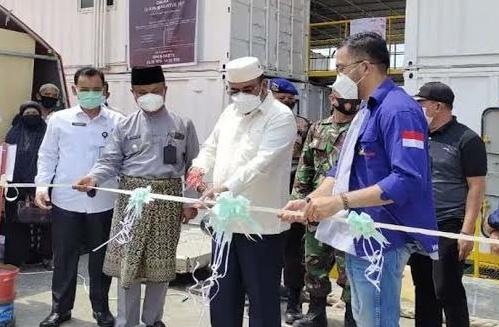 Aunur Rafiq Resmikan Rumah Sakit Apung Nusa Waluya 2, SamuderaKepri