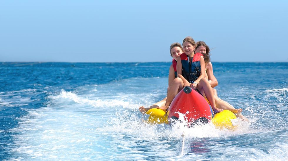 Banana Riding in The Maldives - Watersport Activity Price