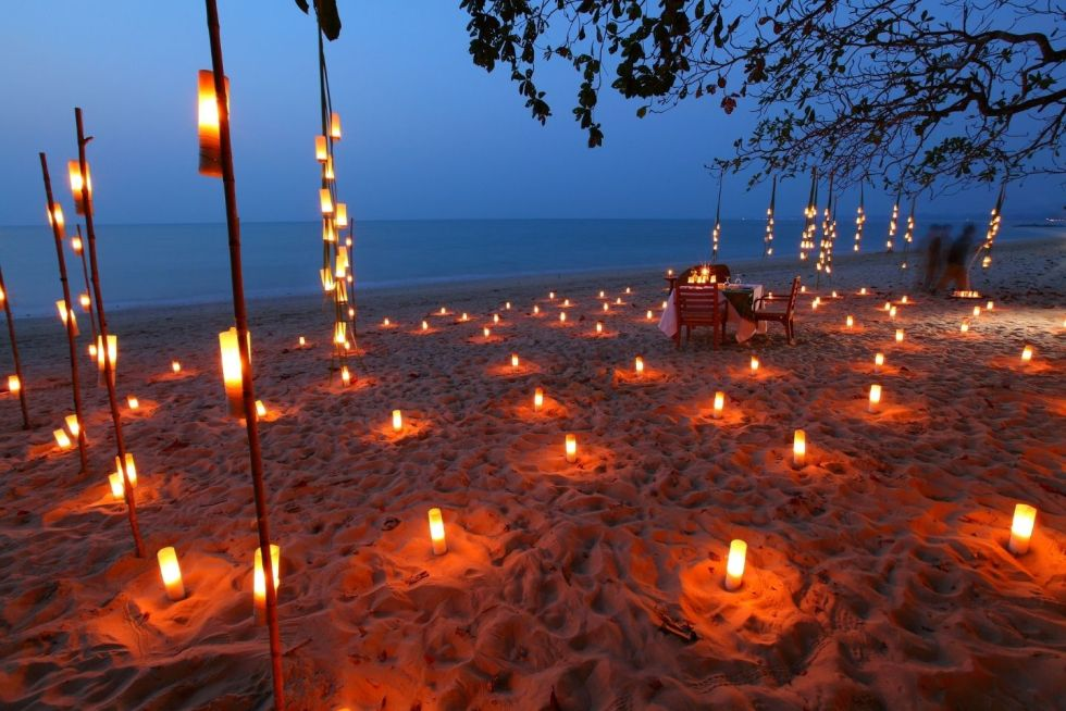Candlelight Dinner Options Offered in The Maldives