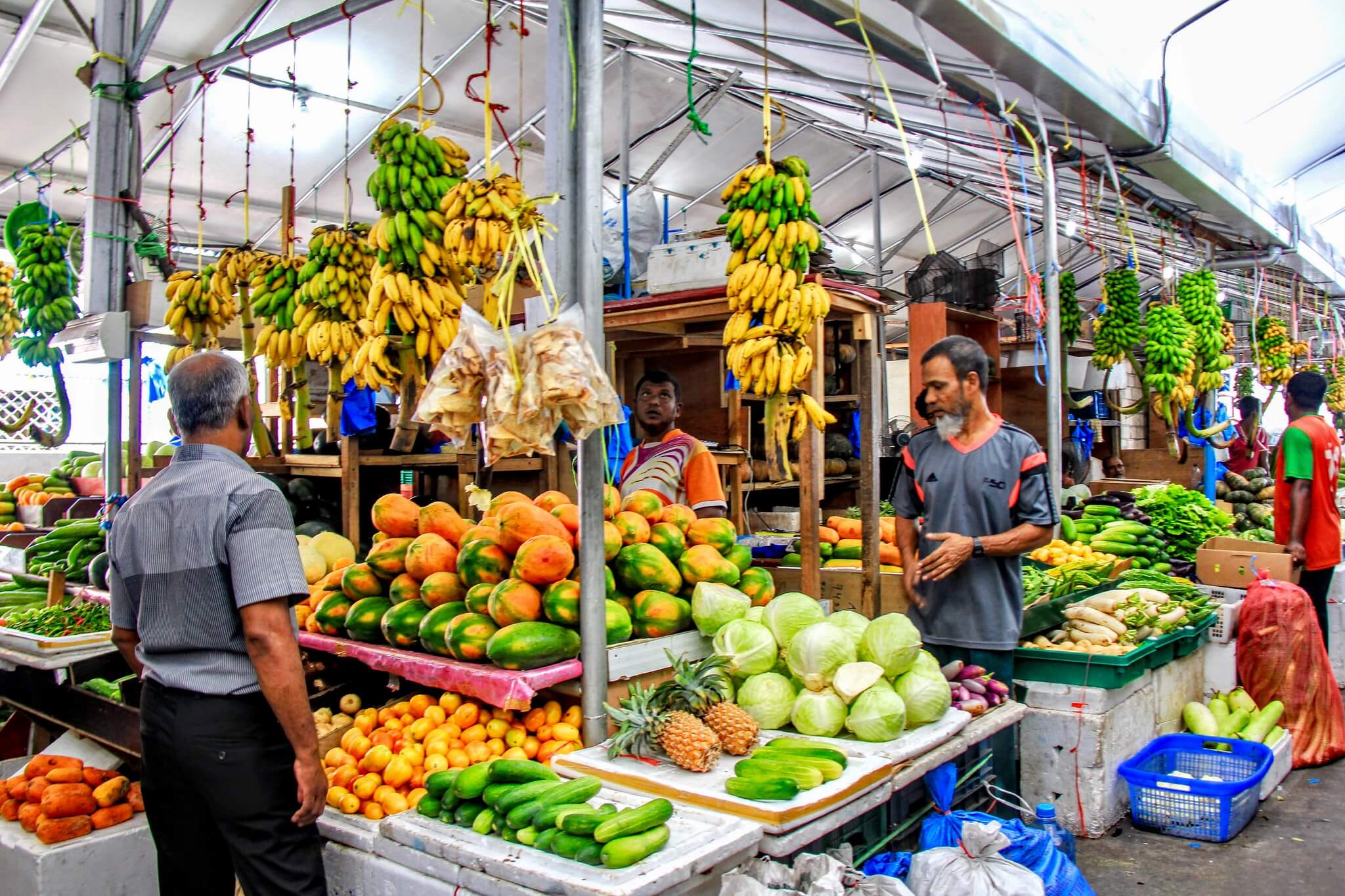 Maldives Male City Tour Market