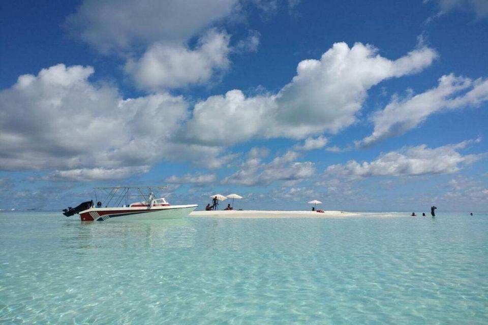 Maldives Snorkeling, Sandbank & Sunset Cruise Day Tour