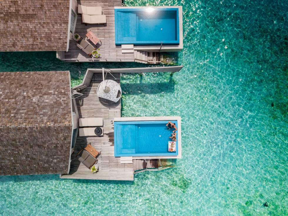 Top Rated Maldives Over Water Villas with Private Pool