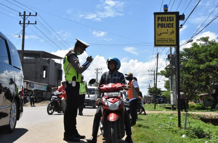 Ini Pelanggar Lalu Lintas Terbanyak di Aceh Timur