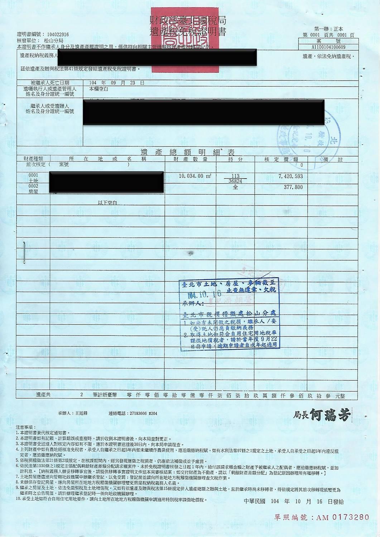 ~野仁獻曝~269【繼承登記實務(二)】 – 不動明王地政士事務所