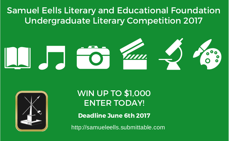 Undergraduate Literary Competition 2017 Advertisement