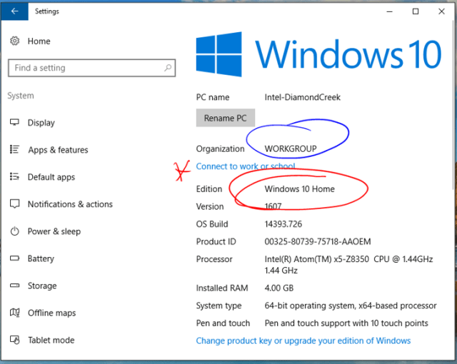 Enrolling a Windows 10 Home Edition BYOD Device Into Intune For Education –  SamuelMcNeill.com