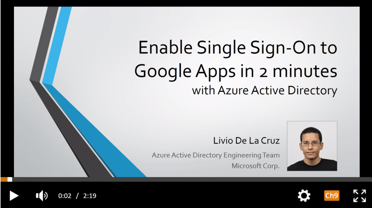 Configure Single Sign On (SSO) From Azure Activity Directory Into Google Suite In Only 2 Minutes