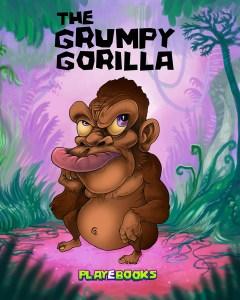Grumpy Gorilla illustration