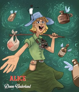 Alice in down underland