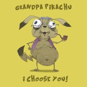grandpa pikachu