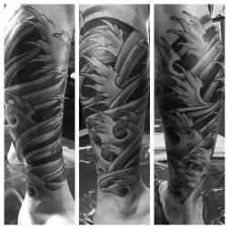 Finger curl waves