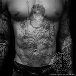 Fudo Myoo tattoo