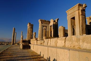 Gemäuer in Persepolis