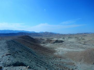 Karge Landschaft
