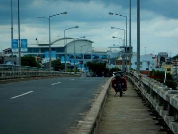 Eine Brücke in Vietnam