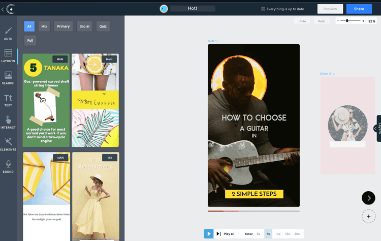 Ztorie is an easy to use platform to create, share, and monetize Stories