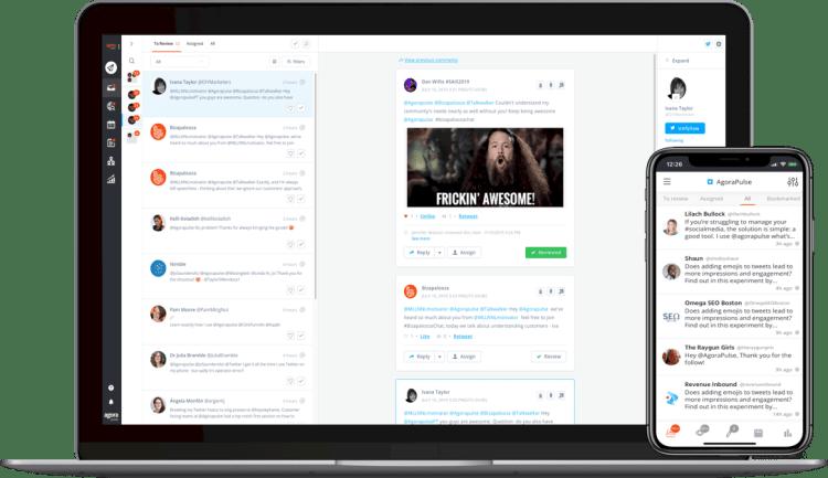 Gérez vos réseaux sociaux avec Agorapulse