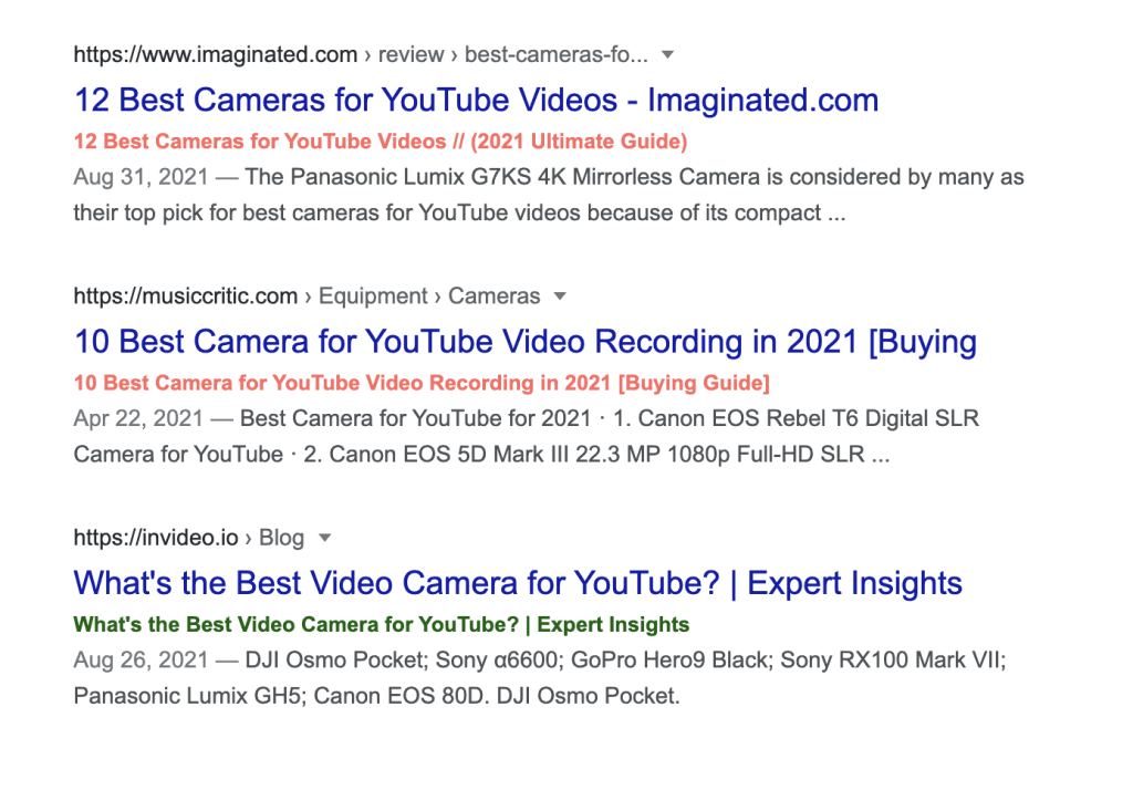 Bookmarklet checking if the result title in the SERP is the same as on the page