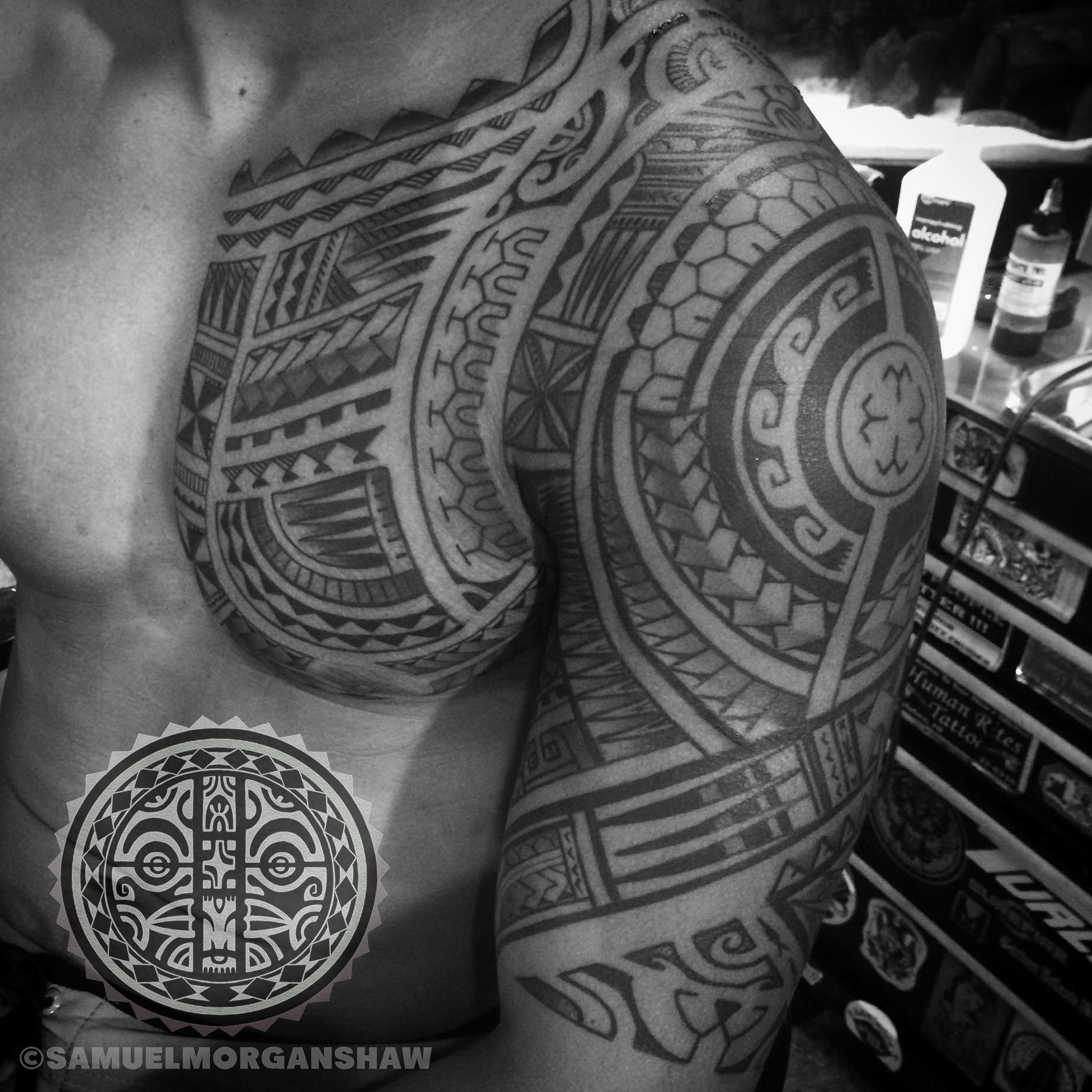 Mixed polynesian kulture tattoo kollective for Hawaiian style tattoos