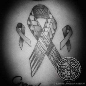 Samoan style tattoo by Samuel Morgan Shaw