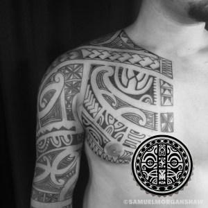 Polynesian Tattoo by Samuel Shaw