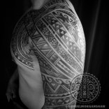 Tongan inspired freehand tattoo