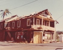 Damage from Hurricane Eva Nov23 1963