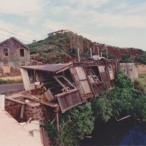 Destroyed by hurricane Iniki Sept 11 1992