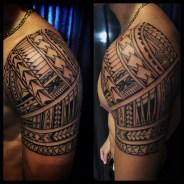 Tattoo by Samuel Shaw. Kulture Tattoo Kollective