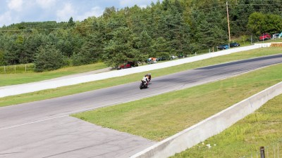Samuel Trepanier taking the lead on rd 7 at Mosport 2015
