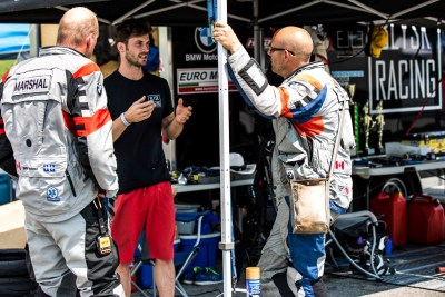 Explaining how Blysk Racing unfortunalety lost the pole position on the CSBK championship