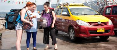 How to around Samui by taxis