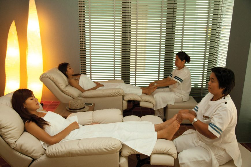Let's Relax Day Spa treatment Samui