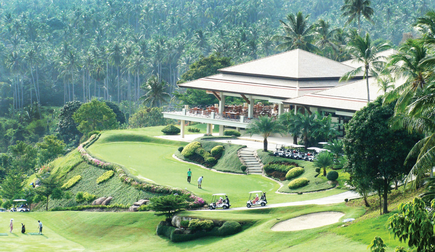 santiburi golf course