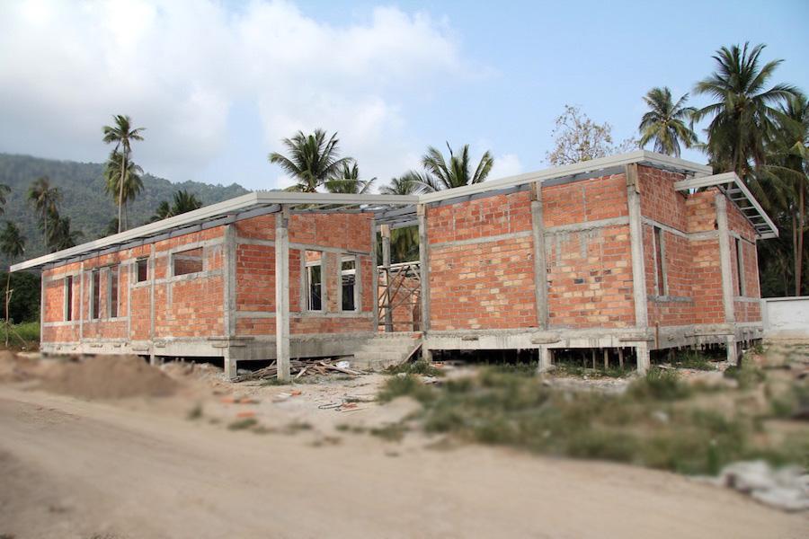 Maison brique ou parpaing perfect gallery of extension for Extension maison 3 ou 4 murs