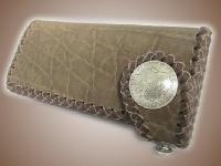 オールドバイカーウォレット(革財布)エレファント/ブラウウン