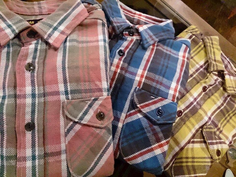 【Blog】UES(ウエス)先染めヘビーネルシャツ