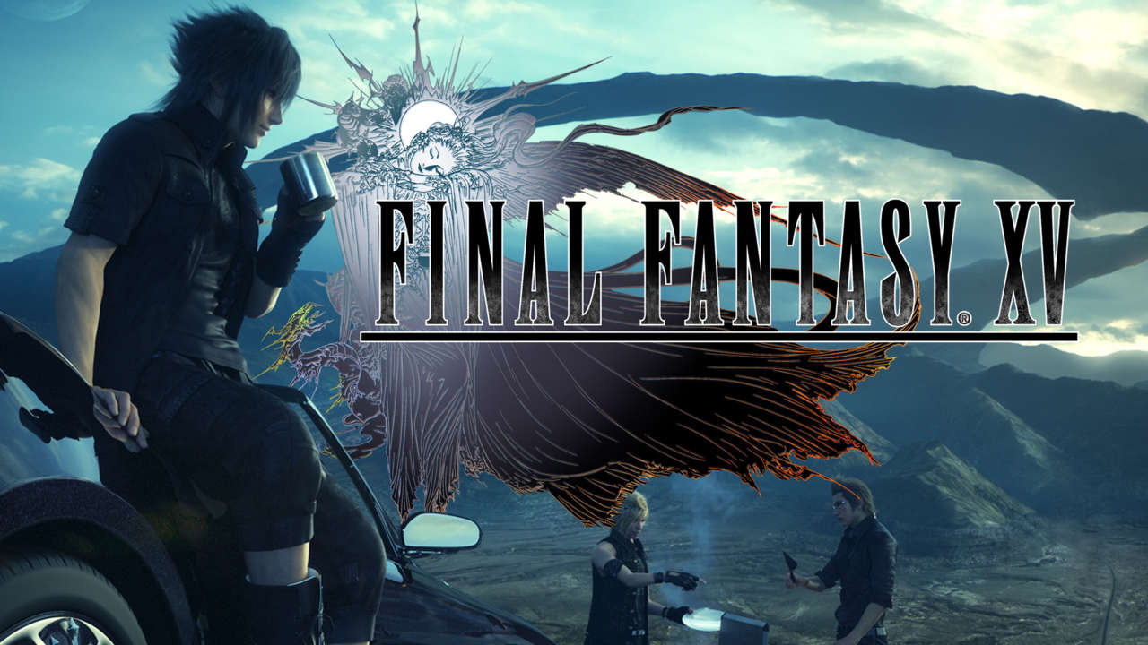 Final Fantasy XV - file sizes