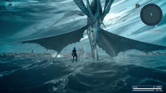 Final fantasy 15 ffxv leviathan boss guide final for Final fantasy 15 fishing guide