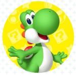 Super Mario Run - Yoshi
