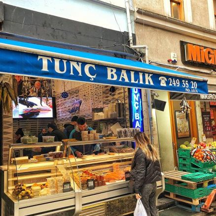 SMOKED SALMON SANDWICH TURKISH FOOD