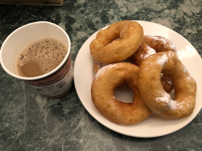 RUSSIAN DONUTS WITH CHICORY COFFEE  IRRESISTIBLE