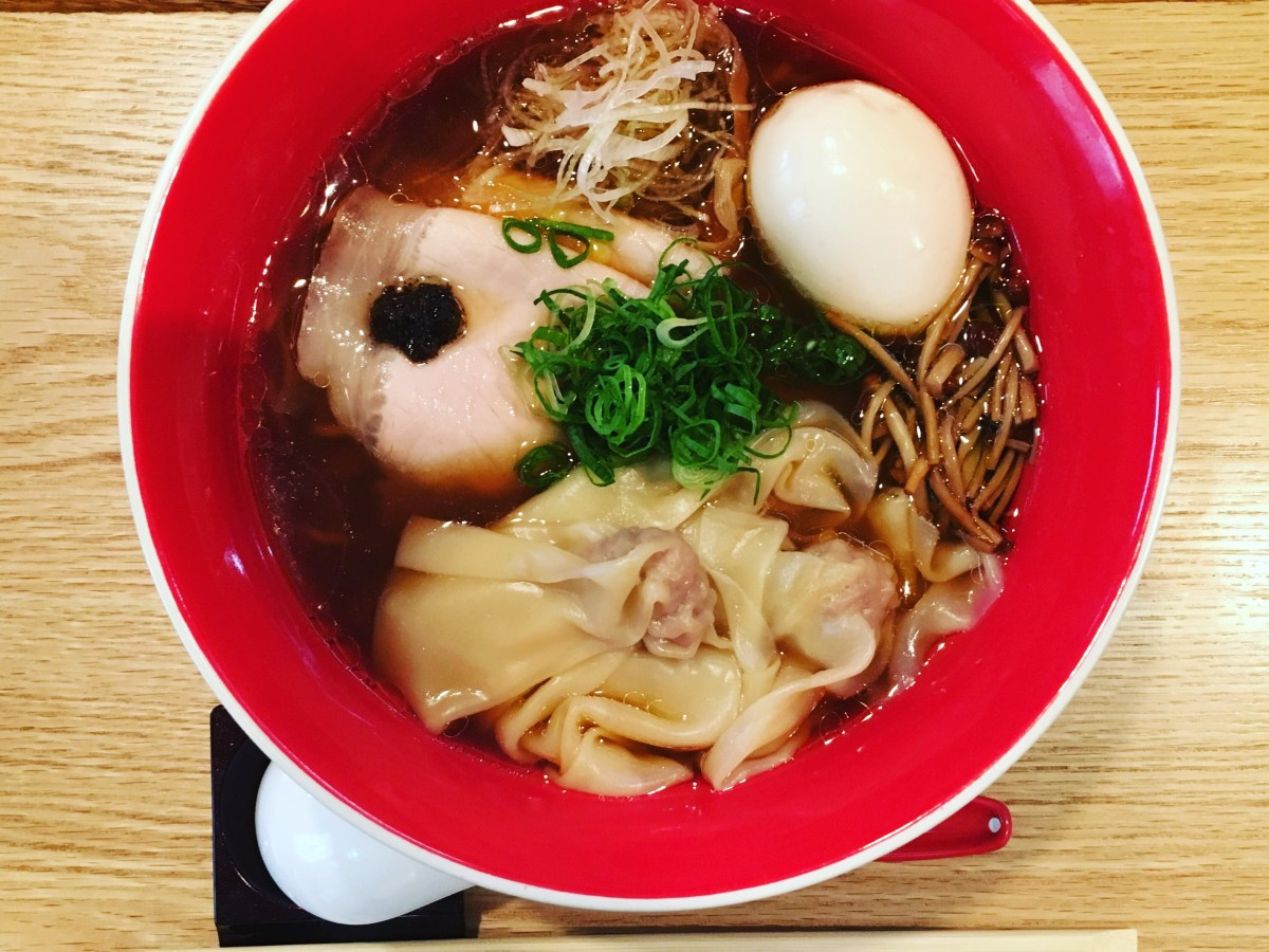 The World's First Michelin Starred Ramen