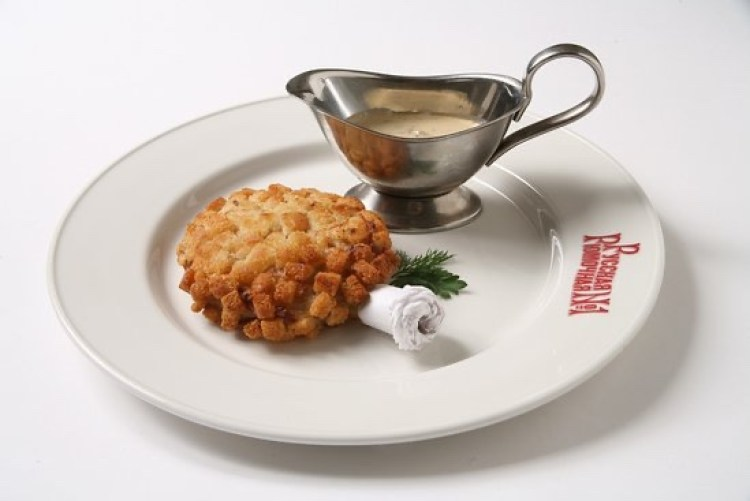 """POZHARSKY"" CHICKEN CUTLET WITH MUSHROOM SAUCE"