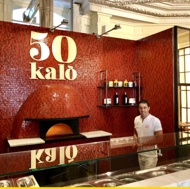50 kalo one of the best pizzeria